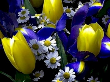 A beautiful bouquet of flowers that I like - A beautiful bouquet of flowers that I like