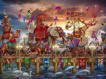 Caravana de circo. - Caravana de circo