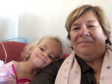 Elisabeth - Elisabeth and her little daughter