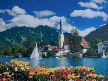 Switzerland. - Landscape puzzle.