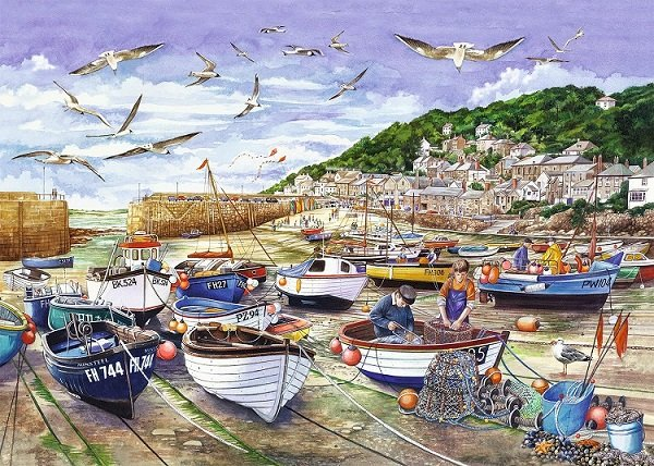 In una città di mare. puzzle online
