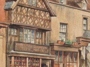 Bâtiments et art - Dessin de beaux immeubles