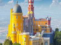Picturesque buildings of Portugal - Vacation idea, Sintra, Portugal