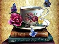 Šálek s horkým čajem v knihách - Šálek s horkým čajem v knihách