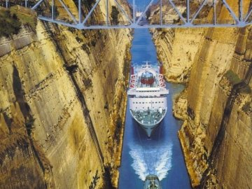 Canal Grèce-Corinthe - Corinth Channel-Grèce Canal Grèce-Corinthe Canal Grèce-Corinthe
