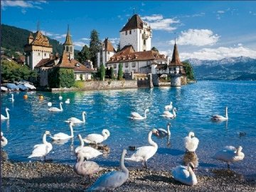 Switzerland. - Swiss puzzle.