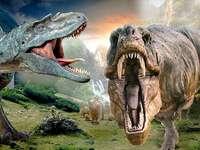 световна динозаври рара - динозаврите са много готини