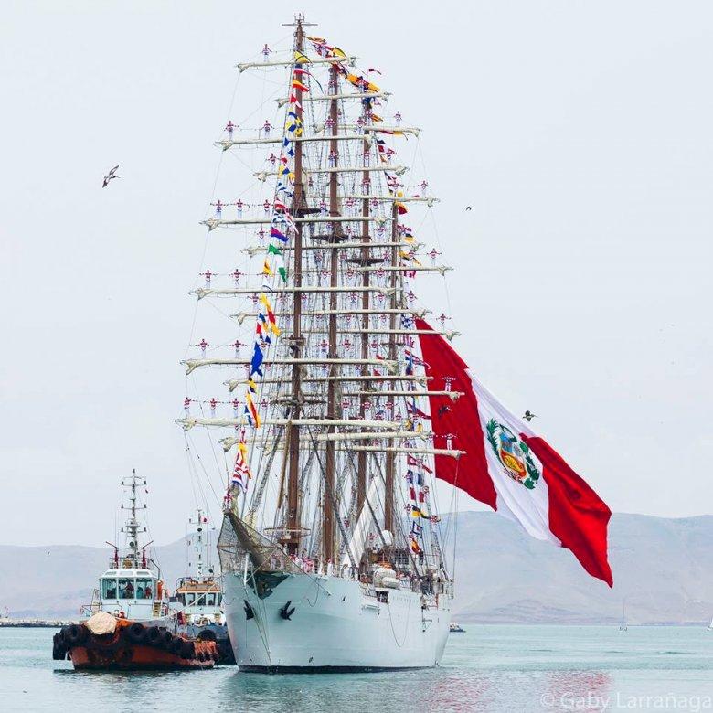 BAP Union - Peruvian Navy Training Ship - BAP Unión is a Peruvian Navy training ship built between 2012–2016 by SIMA shipyard in Callao, Pe