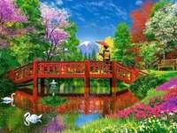 Japan. - Krajina puzzle.