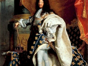 The Sun King - Ecco Luigi XIV il Re Sole in puzzle per un gioco di fuga