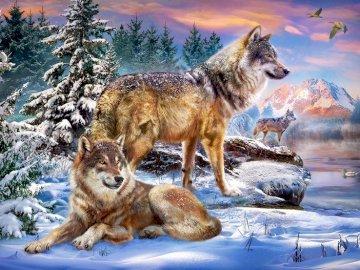 Lobo - o símbolo dos soldados amaldiçoados - Lobo - um símbolo de soldados amaldiçoados, um animal que pode ser morto, mas não escravizado.