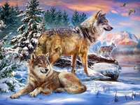 Вълк - символ на проклети войници