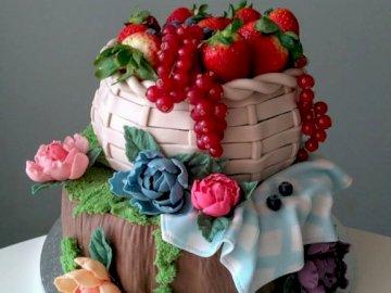 Dulces. - Rompecabezas: pasteles dulces.