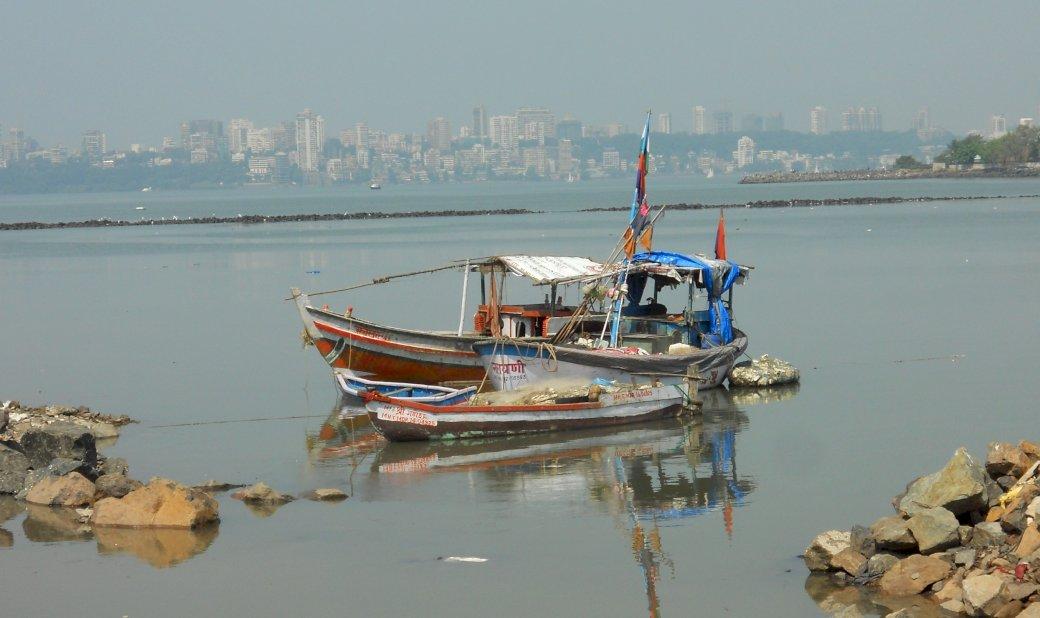 Na řece v Indii