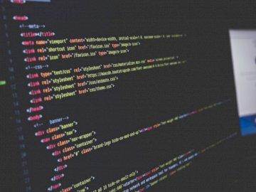 CSS code on a screen - Source code illustration. vijayawada