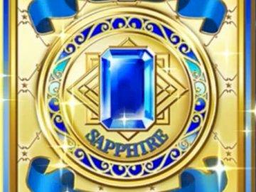 藍寶石 禮服 卡 牌 背面 - 偶像 活動 卡 - 寶石 禮服