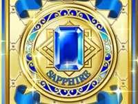 藍寶石 禮服 卡 牌 背面