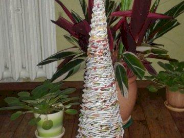 + paper origami - paper wicker