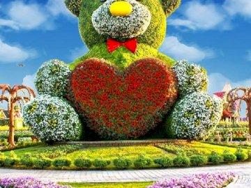 Floral composition. - Floral composition ..