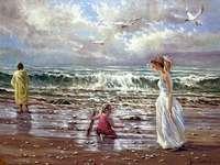 Painting by Dmitr Kulikov.
