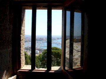 Bahia de Palma z hradu - Bahia de Palma z hradu
