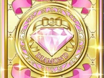 鑽石 禮服 卡 牌 背面 - 偶像 活動 卡 - 寶石 禮服