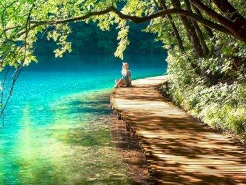 Nationalpark Plitvicer Seen in Kroatien - oh oh oh oh oh oh oh oh oh oh