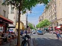 Rues de Paris - Rue de Bretagne Paris