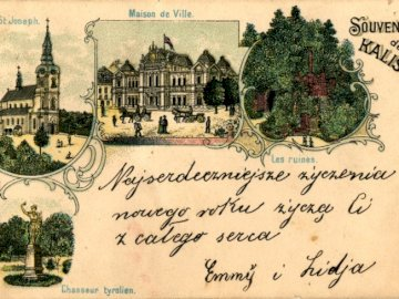 Groeten uit Kalisz - Groeten van Kalisz-briefkaart