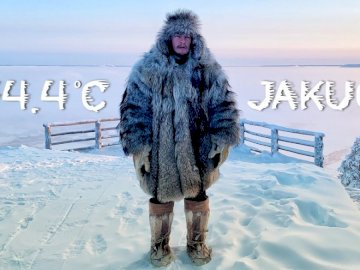 Russia Yakutia - the coldest regions on Earth