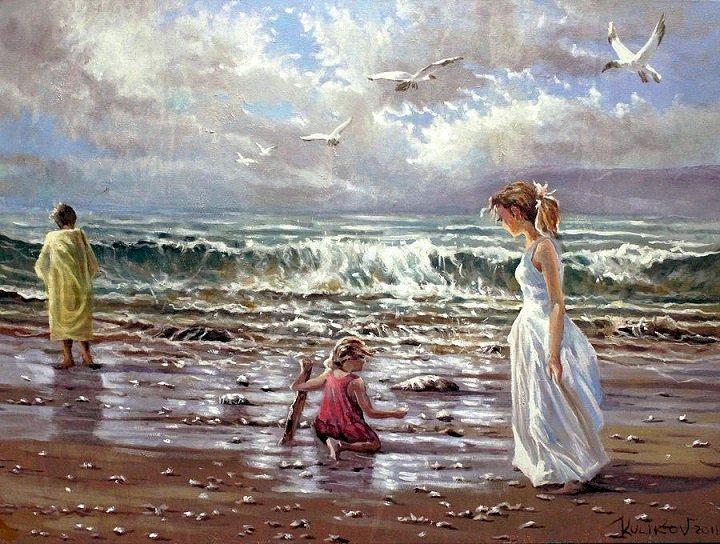 Pintura de Dmitr Kulikov.