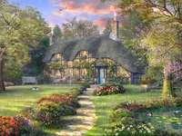 piękny domek w lesie - piękny domek w lesie