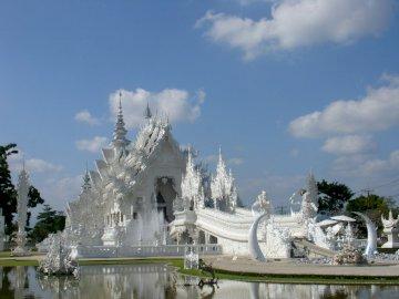 Chrám Bílého Chiang Rai - Chrám Bílého Chiang Rai