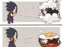 Carino sasuke vs itachi