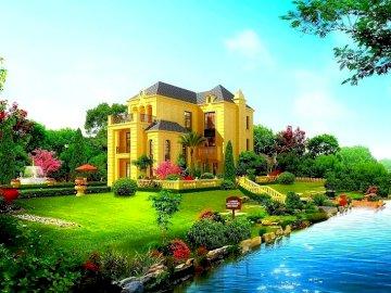 Rezydencja nad wodą