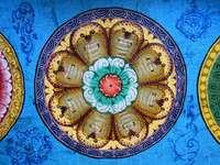 Hindoeïstische tempel beschilderde daken van Zuid-India - Hindoeïstische tempel beschilderde daken van Zuid-India