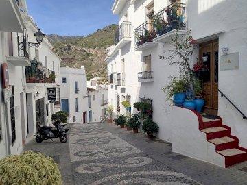 Frigiliana - Frigiliana , uliczka , Andaluzja
