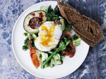Jajko na miękko - Danie na śniadanie, jajko