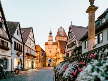 Rothenburg ob der Tauber - Rothenburg ob der Tauber w Niemczech