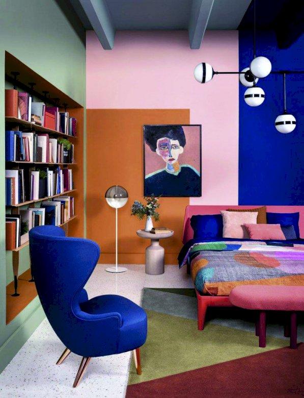 Wohnzimmer als Lesesaal