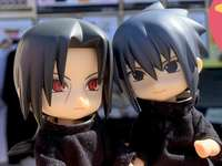 Itachi and Sasuke - Itachi and Sasuke are very cute in nendoroid