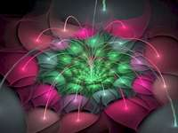 Space flowers - These space flowers are very beautiful