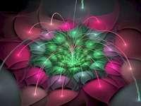 Космически цветя - Тези космически цветя са много красиви