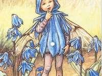 dívka jako modrý motýl - dívka jako modrý motýl