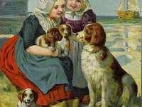 sestřičky a rodinka bernandýnů - sestřičky a rodinka bernandýnů