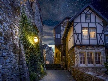 piękna wioska - Wspaniała wioska