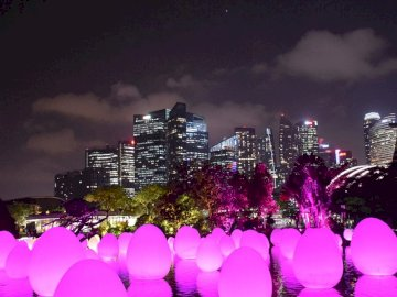 lighted balls in singapore - lighted balls in singapore