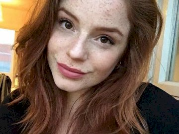 natural beauty - freckles and ginger hair