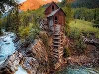 Планинска река.