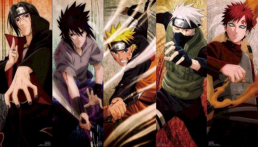 5 personaggi molto forti puzzle